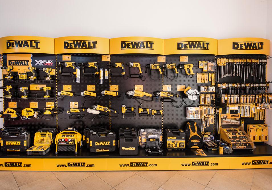 Vasta scelta prodotti DeWalt